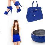 Blu elettrico: un altro colore per l'estate!