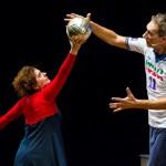La leggenda del pallavolista volante: lo sport incontra il teatro