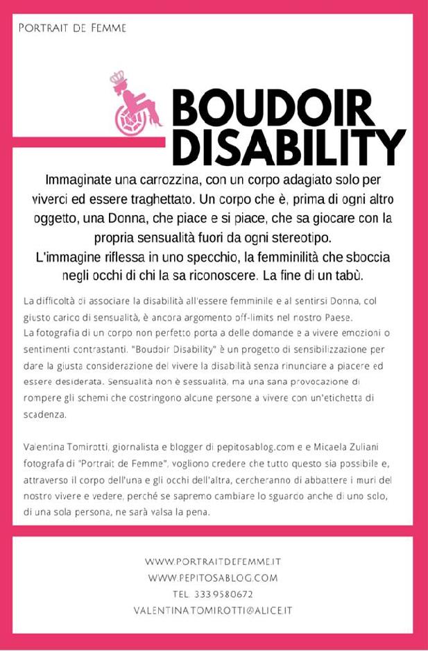 boudoir disability