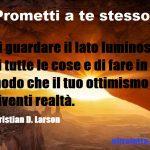 Le 12 promesse – Il credo dell'ottimista (6)