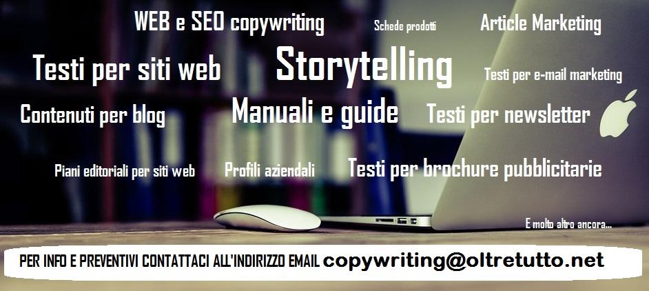 copywriting servizi di copywriting,servizi di scrittura,Web copywriting, SEO copywriting,scrittura testi,storytelling,servizi di scrittura manuali e guide