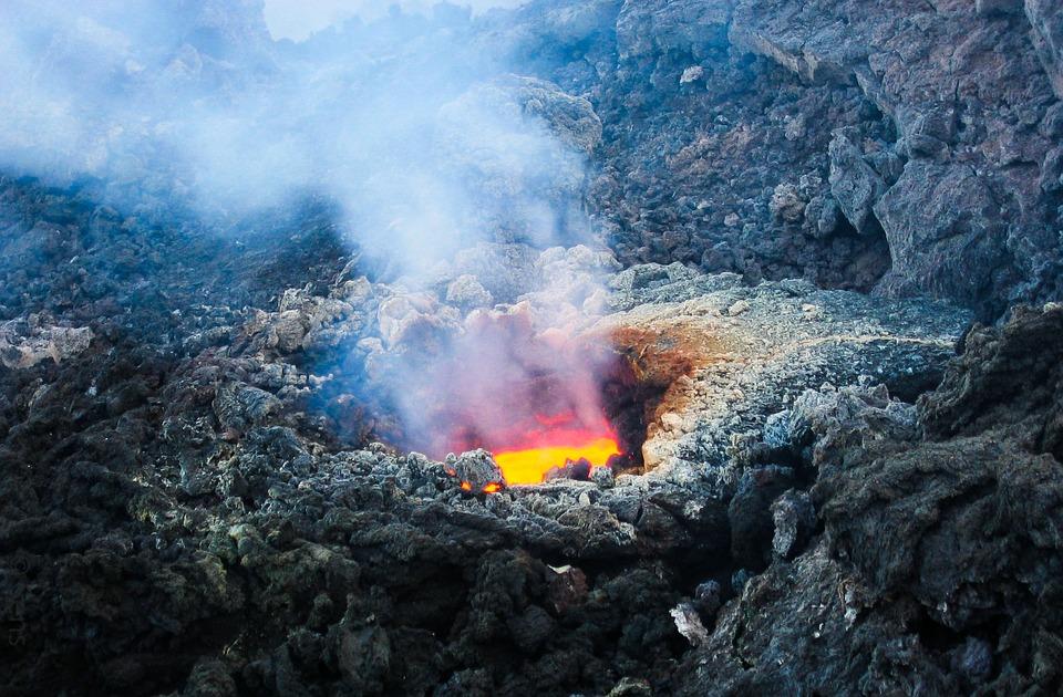 vulcani più spaventosi